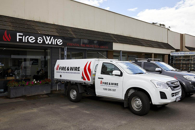 business fire protection vehicle