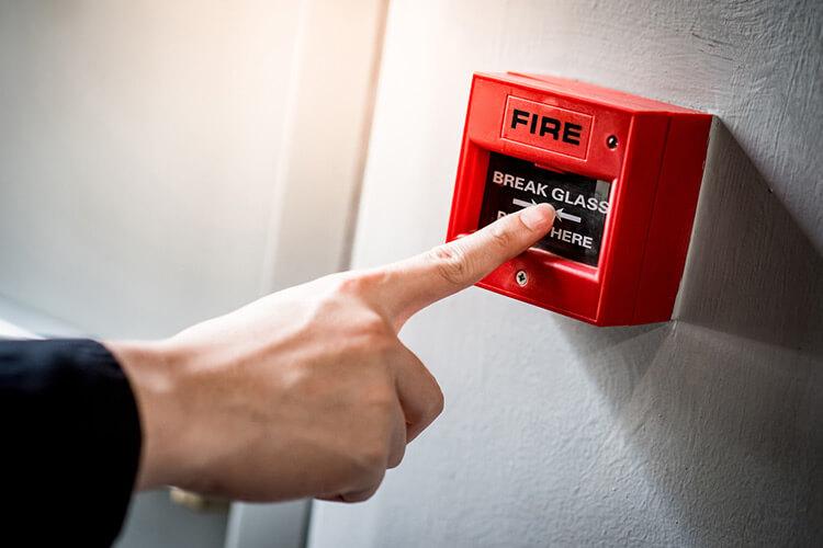 fire system installation checks